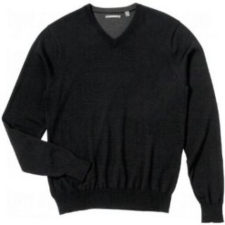 Ashworth Mens Merino Wool V Neck Sweaters   Discontinued Style  Athletic Warm Up And Track Jackets  Clothing