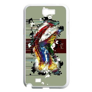 Custom Personalized Colorful Graffiti Cover Hard Plastic Samsung Galaxy Note 2 N7100 Case Cell Phones & Accessories