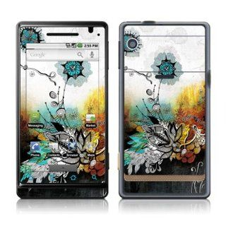 Frozen Dreams Design Protective Skin Decal Sticker for Motorola Droid Cell Phone Cell Phones & Accessories