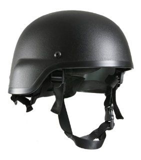 GI G.I. ABS Plastic MICH 2000 MICH 2000 Modular Integrated Communications Helmet 2000 Replica Tactical Army Military Airsoft Helmet BLACK