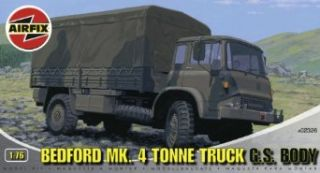 Airfix A02326 176 Scale Bedford Mk4 Tonne Truck Military Vehicles Classic Kit Series 2 Toys & Games