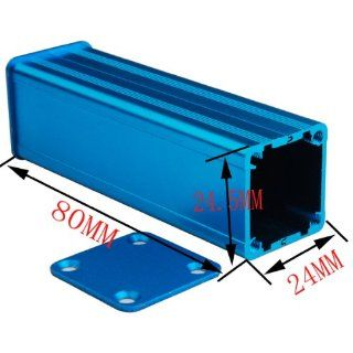 "Superbat Aluminum Box Enclosure Case  3.15""*0.96""*0.94""(L*W*H)   Electrical Boxes"