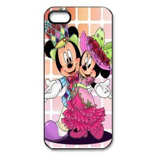 Mystic Zone Mickey Mouse iPhone 5 Case for iPhone 5 Cover Classic Cartoon Character Fits Case WSQ0852 Cell Phones & Accessories