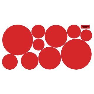 Red Dots Wall Decals (Repositionable)   Wall Decor Stickers