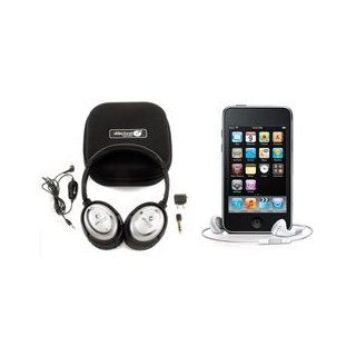 AblePlanet NC1000CH Clear Harmony Active Noise Canceling Headphones + 8G iPod Touch Electronics