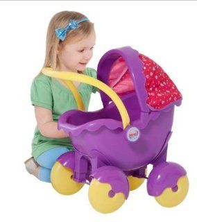 Peppa Pig   Push Along Pram Toys & Games
