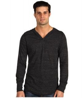 Alternative Apparel Eco Heather Pullover Hoodie Mens Long Sleeve Pullover (Black)