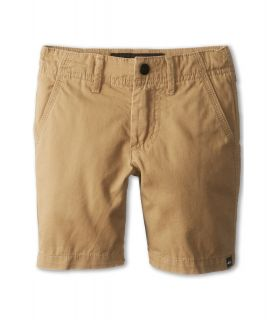 Quiksilver Kids Minor Road Walkshort Boys Shorts (Khaki)