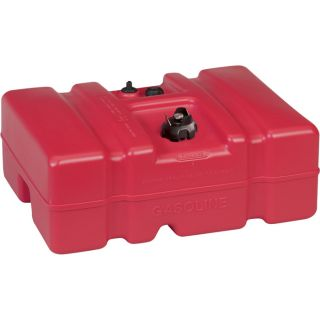 Moeller Marine EPA- Compliant Topside Fuel Tank — 12 Gallons, Low Profile, Model# 620013LP  Auxiliary Transfer Tanks