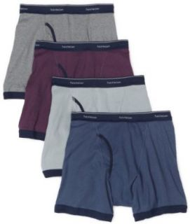 Fruit of the Loom Men's 4 pack low rise collection fashion ringer boxer brief at  Men�s Clothing store