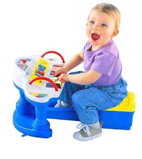 Fisher Price Rock & Play Piano Toys & Games