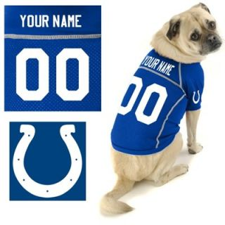 Hunter Indianapolis Colts Custom Pet Jersey