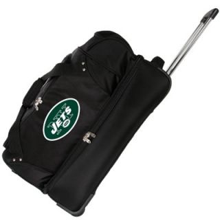 New York Jets 27 Rolling Duffel Bag