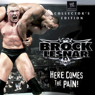 "WWE Brock Lesnar Here Comes The Pain Collector's Edition Season 1, Episode 16 ""SmackDown September 18, 2003, 60 Minute Iron Man Match for the WWE Championship Kurt Angle vs. Brock Lesnar""  Instant Video"
