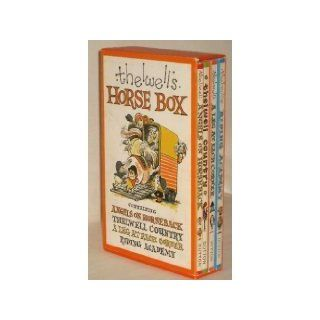 Thelwell's Horse Box Containing   Angels on Horseback, Thelwell Country, A Leg at Each Corner, Riding Academy Norman Thelwell 9780525215806 Books