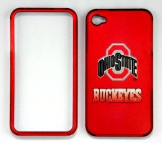 IPHONE 4/4S Buckeyes RED FULL CASE