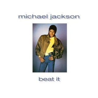 "Beat it / Burn This DIsco Down & Don't Stop Till You Get Enough (live)   Michael Jackson   UK Pressing [12"" Maxi Single] Music"