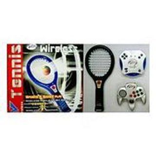 Interactive Tennis Tv Plug Play Video Game with Racket 39 Vintage Video Games