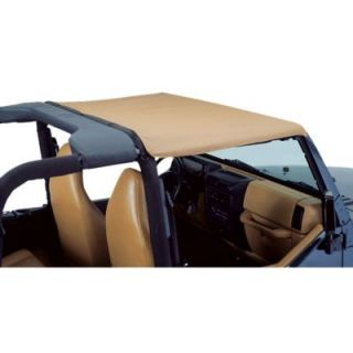 1997 2006 Jeep Wrangler (TJ) Summer Top   Bestop, Direct fit, Dual layer poly cotton, Black denim