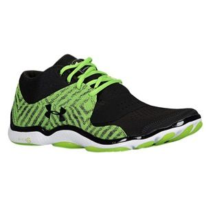 Under Armour Micro G Renegade Mid   Mens   Training   Shoes   Black/Hyper Green