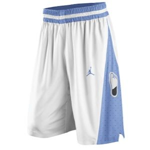 Nike College Authentic Basketball Shorts   Mens   Basketball   Clothing   North Carolina Tar Heels   White