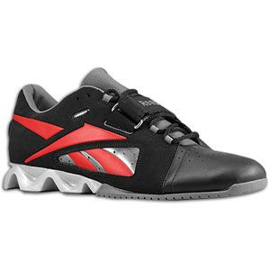 Reebok CrossFit U Form Lifter   Mens   Training   Shoes   Black/Excellent Red/Grey/Silver