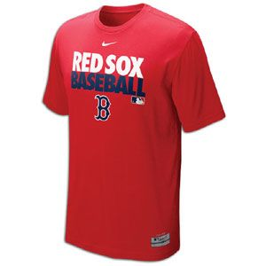 Nike MLB Dri Fit Graphic T Shirt   Mens   Baseball   Clothing   Boston Red Sox   Red
