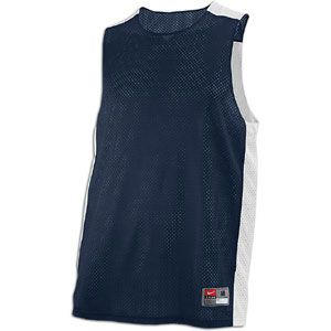 Nike Hustle Reversible Tank   Mens   Basketball   Clothing   Navy/White