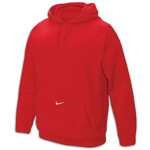 Nike Team Tech Fleece Hoodie   Mens   For All Sports   Clothing   Scarlet/White