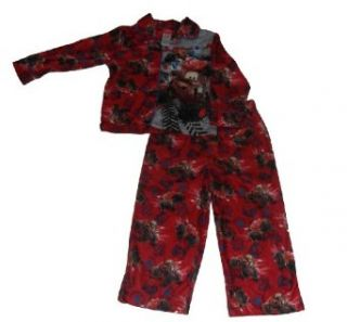 Disney Cars Mud Machines Toddler Boys Coat Pajamas Red (2T) Clothing