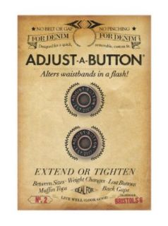 Adjust A Button for Denim Removable instant fix for a perfect fit on jeans Clothing