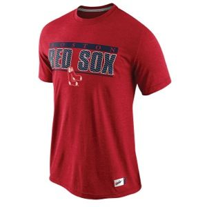 Nike MLB Cooperstown Graphic T Shirt   Mens   Baseball   Clothing   Boston Red Sox   Red Heather