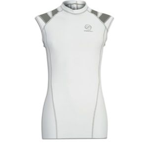 Intelliskin Foundation Posture Cue Tank   Mens   Baseball   Clothing   White