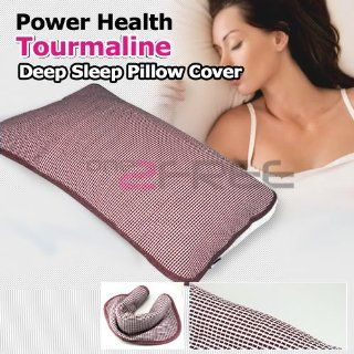 Power Ionics Tourmaline Far Infrared Ray Heat Health Pain Relief Deep Sleep Pillow Pad Health & Personal Care