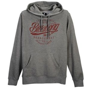 Billabong Colonial Pullover Hoodie   Mens   Casual   Clothing   Dark Grey Heather