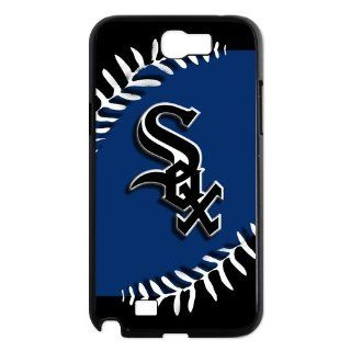 Custom Chicago White Sox Case for Samsung Galaxy Note 2 N7100 IP 21362 Cell Phones & Accessories