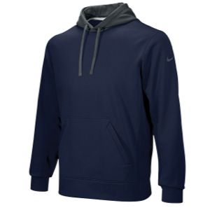Nike FB KO Pullover Hoody   Mens   For All Sports   Clothing   Navy/Anthracite