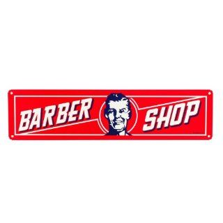 Barber Shop Vintage Style Retro Salon Sign Classic Tin Decoration Antique Metal Beauty