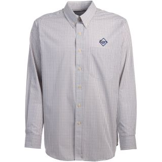 Antigua Tampa Bay Rays Mens Monarch Long Sleeve Dress Shirt   Size Large,