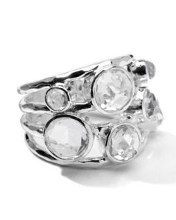 Sterling Silver Rock Candy Constellation Ring in Clear Quartz   Ippolita