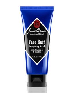 Mens Face Buff Energizing Scrub, 3 oz.   Jack Black   Black