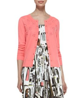 Womens beaded floral cluster cardigan   kate spade new york   Surprise crl 868