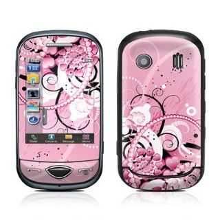 Her Abstraction Design Protective Skin Decal Sticker for Samsung Corby Plus GT B3410 Cell Phone Cell Phones & Accessories