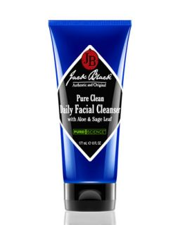 Pure Clean Daily Facial Cleanser   Jack Black   Black