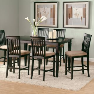 Deco 7 Piece Counter Height Table Set   Dining Table Sets