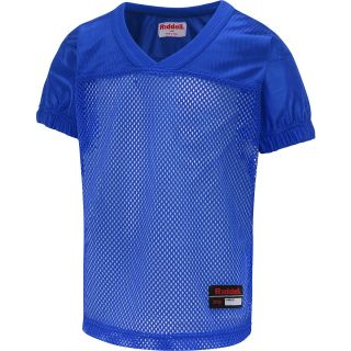 RIDDELL Boys Short Sleeve Football Practice Jersey   Size XS/Extra Small, Blue