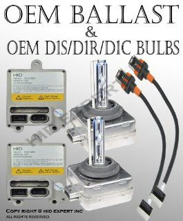 Combo OEM Factory Stock Direct Replacement Ballast & D1S 8000K HID Bulbs Automotive