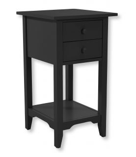 Painted Cottage Two Drawer End Table