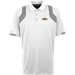 Antigua San Francisco Giants Mens Fusion Short Sleeve Polo   Size XXL/2XL,