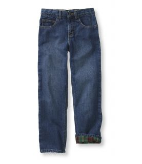 Boys Double L Jeans, Straight Leg Lined